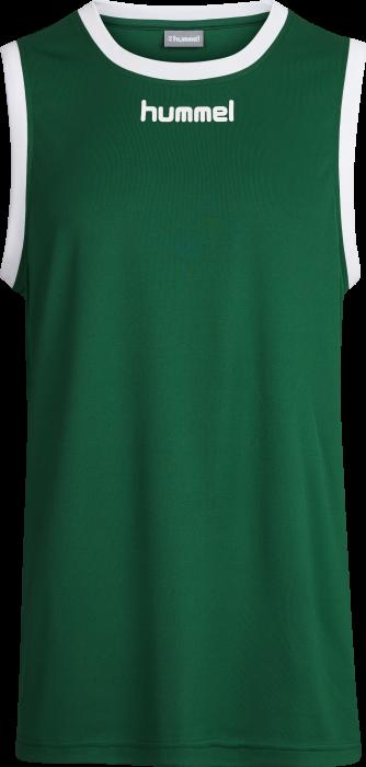 4a6c6bd11a3 Hummel Core Basket Jersey Youth › Green & white (103651) › 6 Colors ...