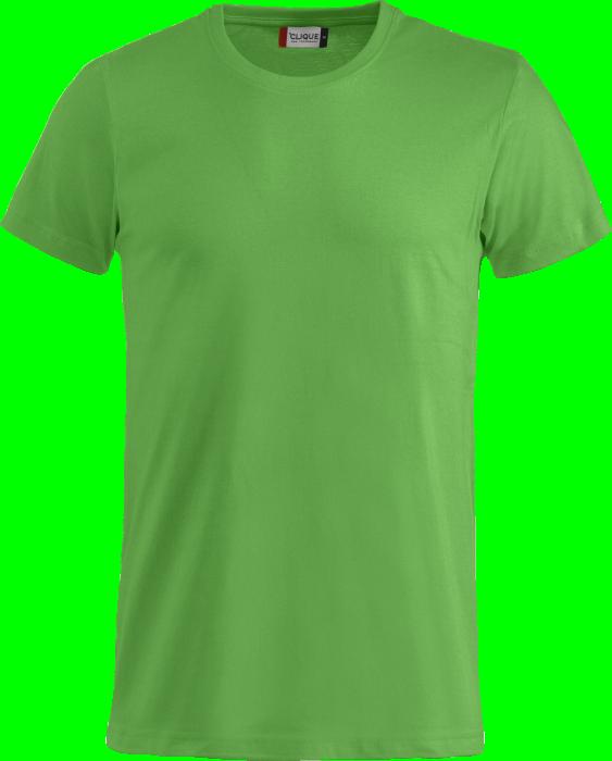 fbb9077d3e Clique Basic Cotton T-shirt › Apple green (029030-605) › 23 Colors ...