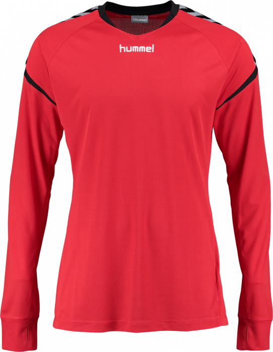 8a5b46ae98249 Hummel Authentic Charge Poly Jersey LS Adults › True Red (04616-3062 ...