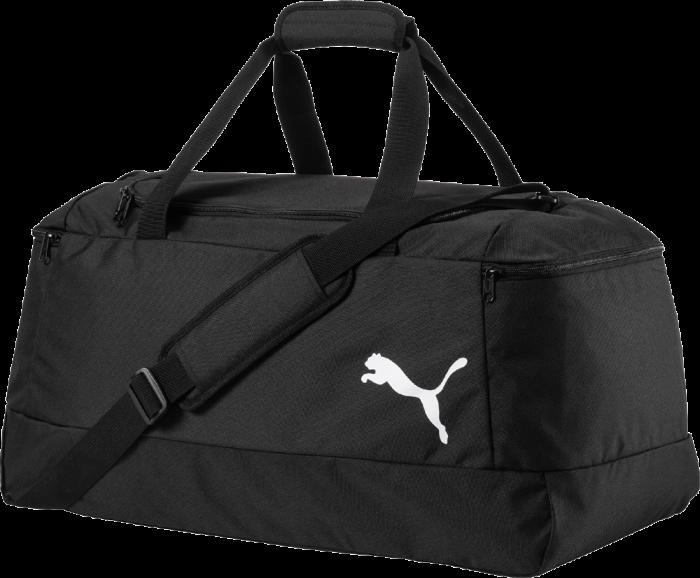 4a1aaa5a9e0f80 Puma medium sportsbag, pro Training › Black & white (074892) › 4 ...