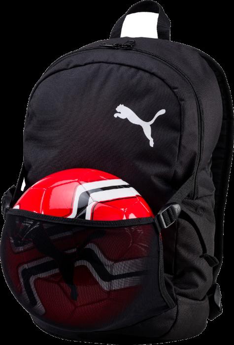 6430a9b2f8 Puma Pro Training II Backpack with Ball Net › Black   white (074902 ...