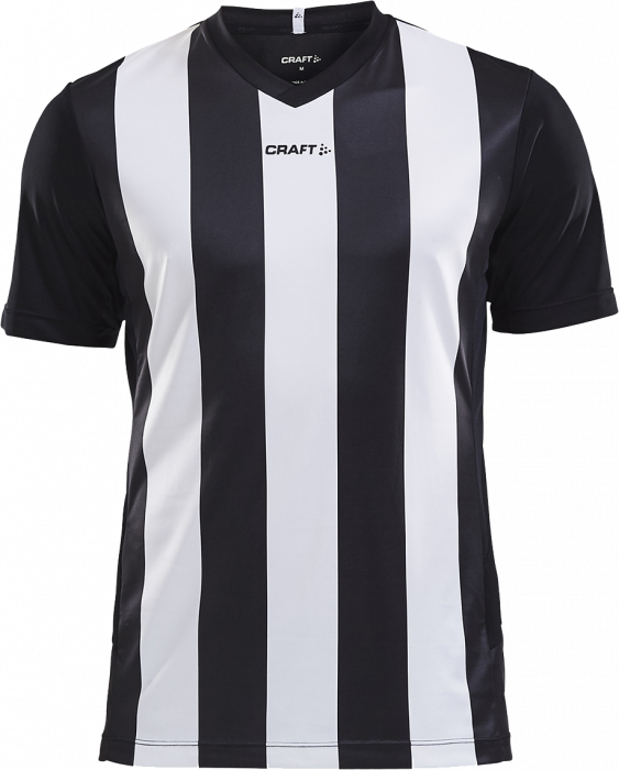 ade47821b Craft PROGRESS Jersey Stripe men › Noir & blanc (1905562_9900) › 12 ...