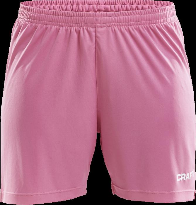 3c2579e5 Craft SQUAD SOLID Shorts Women › Lyserød (1905576-1471) › 9 Färger ...