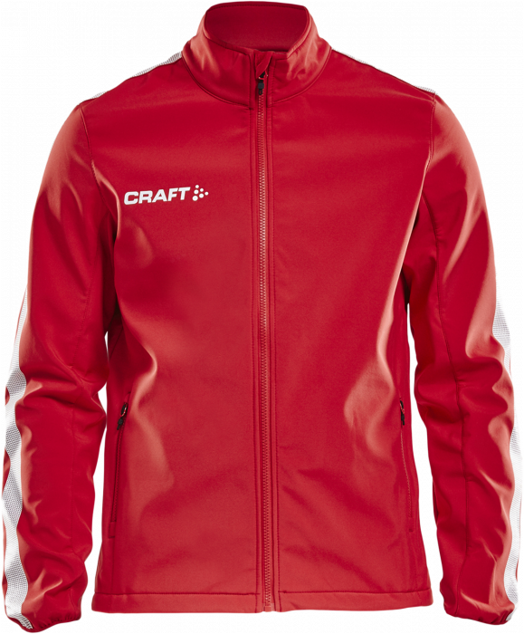 Control Craft amp; Pro › Jacket Youth Blanco Rojo Softshell 7wgw5qA