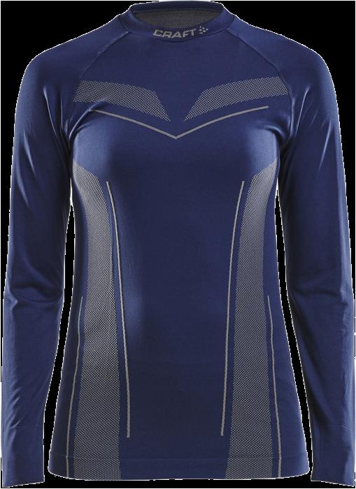 b0a246b5 Craft Pro Control Seamless Jersey Dame › Navy blå & grå ...