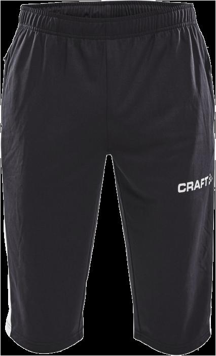 f16ff014 Craft Progress 3/4 pant › Black & white (1907114_999900) › Pants ...