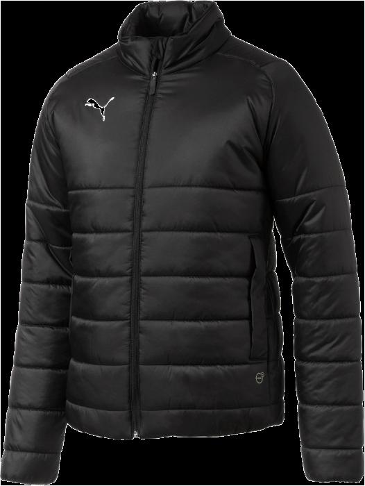 black and white puma jacket