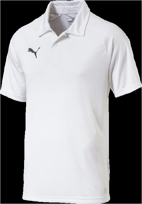 ba28a1bfee9c Puma Liga Sideline Polo › Hvid   sort (655608) › 5 Farver › T-shirts ...