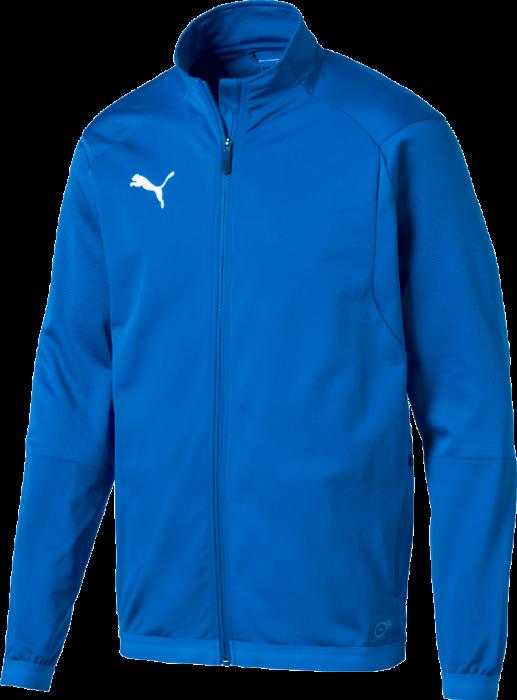 e7349f97f60 Puma Liga Sideline Jacket › Blå & hvid (655667) › 4 Farver › Tøj › Løb