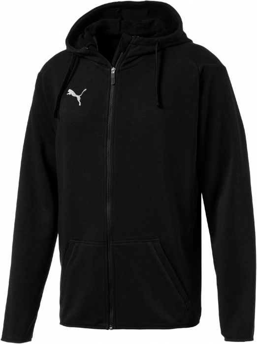 adff56407805 Puma Liga Casual Hoody Jacket › Black   white (655771) › 4 Colors ...