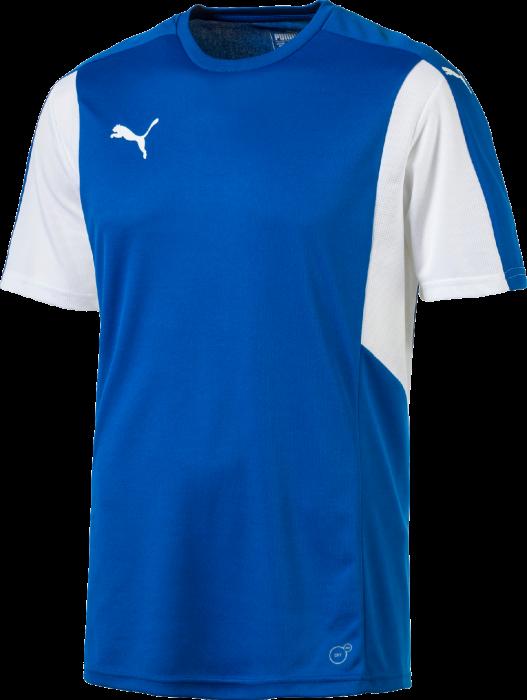 9255a5814903c Puma Dominate t-shirt › Blau   weiß (703063) › 7 Farben › Kleidung ...