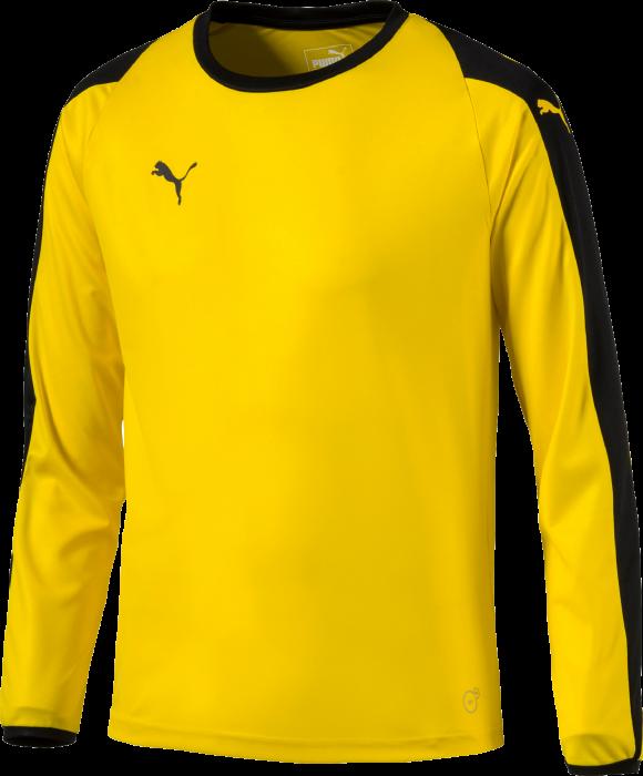 eba7e2eb Puma Liga GK Shirt Youth › Yellow & black (703443) › 3 Colors