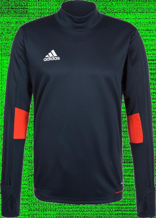 Adidas tiro 17 training shirt youth navy blue orange for Navy blue color shirt