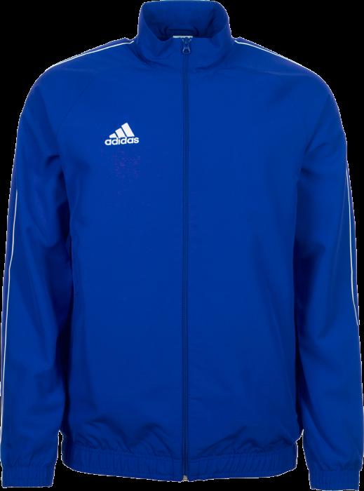 41a5feca4ac5 Adidas Core18 Presentation Jacket › Cobolt blue (CV3685) › 4 Colors ...