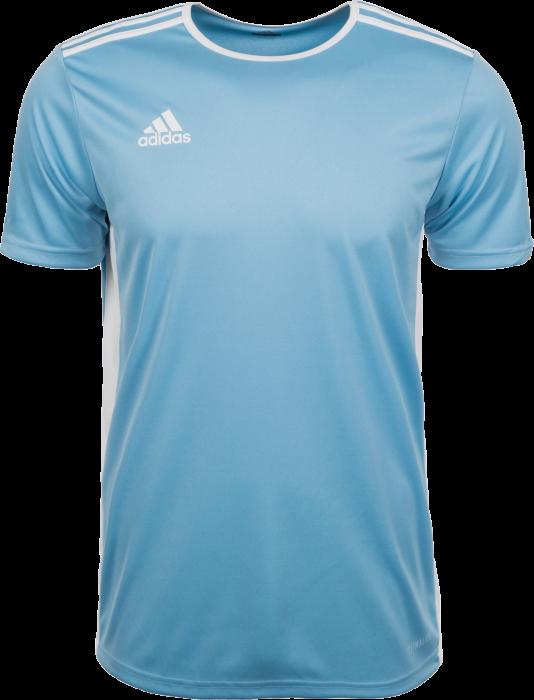7d4f4719a Adidas Entrada 18 game jersey › Light Blue & vit (CD8414) › 10 ...