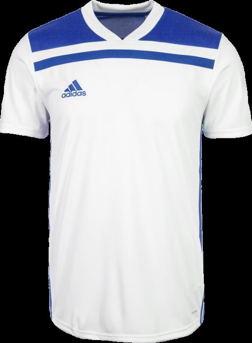 Adidas Regista 18 SS game jersey › Branco   azul (CE8970) › 7 Cores ... 77deb5448599d