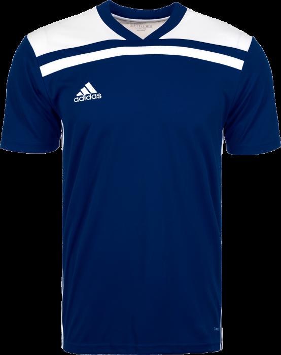 Adidas Regista 18 SS game jersey › Azul marino   blanco (CE8966) › 7 ... 13befdd0f52ec