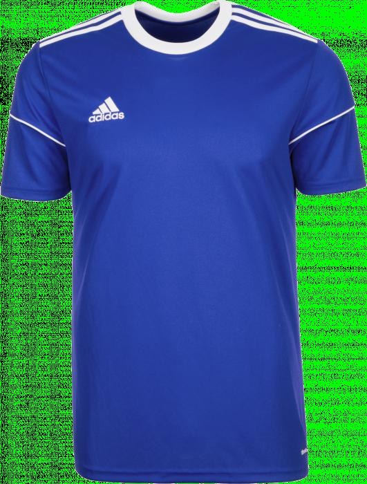 Adidas SQUADRA 17 JERSEY › Cobolt blue & white (S99149) › T-shirts ...