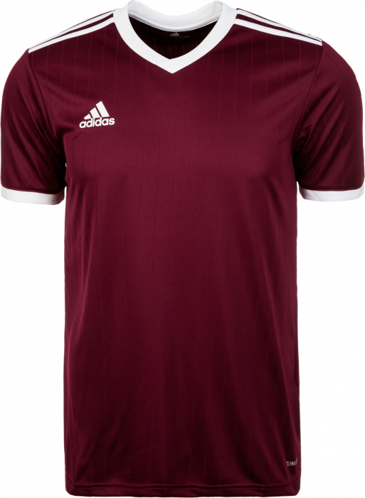 acheter en ligne a6ffe 0b5d7 Adidas Tabela 18 SS jersey › Bordeaux & bianco (CE8945) › 12 ...