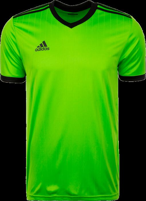 Adidas Tabela 18 SS jersey › Macaw   noir (CE1716) › 12 Couleurs › T ... d0e3104e001