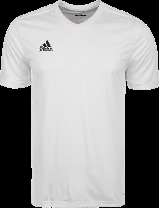 6492b31b1 Adidas Tabela 18 SS jersey › Vit & vit (CE8938) › 12 Färger › T ...
