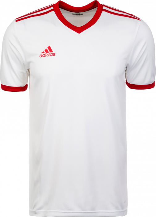 153ee3bf09b6 Adidas Tabela 18 SS jersey › White   red (CE1717) › 12 Colors › T ...