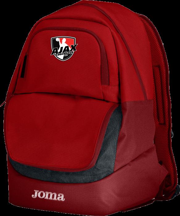 Ajax København tøj og udstyr - Joma Ajax Rygsæk Med God Plads › Rød & sort (400235 red) › Tasker