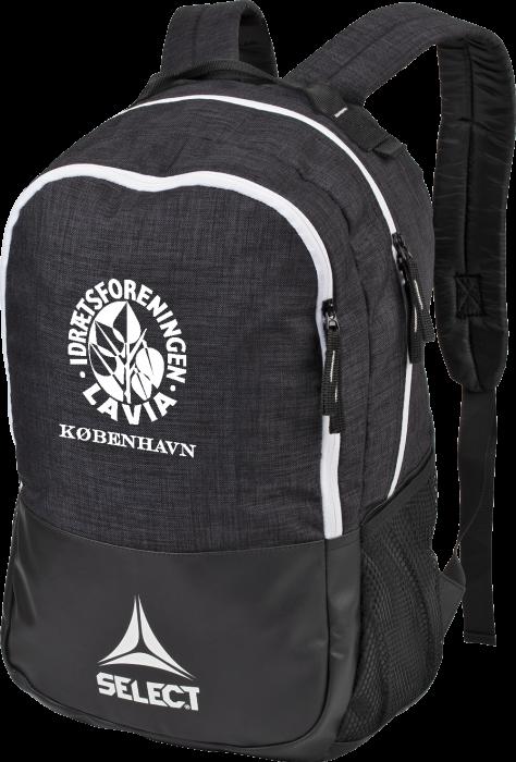 b491943c4cab2f Select lavia backpack, 25 L › Black & white (Lazio rygsæk) › Bags
