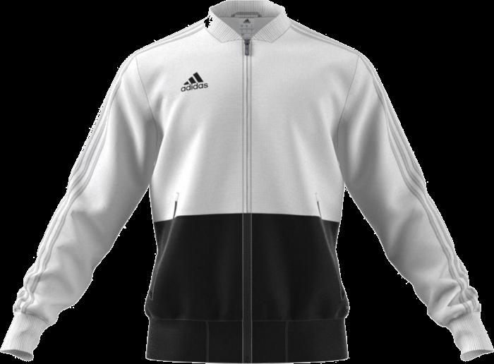 Adidas CONDIVO 18 PRESENTATION JACKET › White   black (bq6631) › 7 ... 7a900a1f12