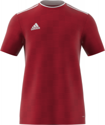 ea411720698 Adidas SQUADRA 17 JERSEY › Red   white (BJ9174) › 10 Colors › T-shirts    polos by Adidas