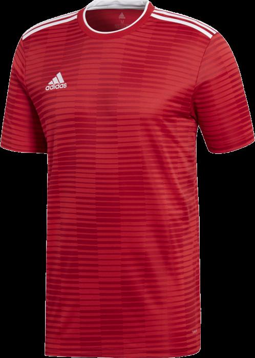 5a29a12f99b Adidas condivo 18 jersey › Rood & wit (cf0677) › 7 Kleuren › T ...