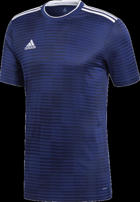 c5e703b1f Adidas condivo 18 jersey › Navy blue & white (cf0678) › 7 Colors › T ...