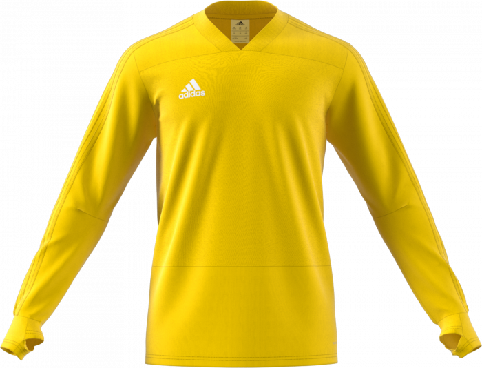 d103435177a8 Adidas CONDIVO 18 PLAYER FOCUS TRAINING TOP YOUTH › Yellow (cg0392 ...