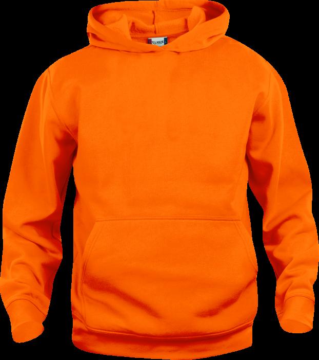 Clique Basic Cotton Hoodie › Orange (021031-170) › 18 ...