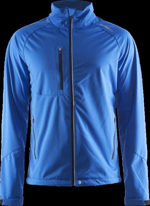 1d512a12 Craft Bormio Soft Shell Jacket › Sweden Blue (1903556-2336) › 4 ...