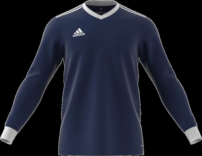 b6c82efe2 Adidas tabela 18 match jersey LS › Marinblå & vit (cz5458) › 7 ...