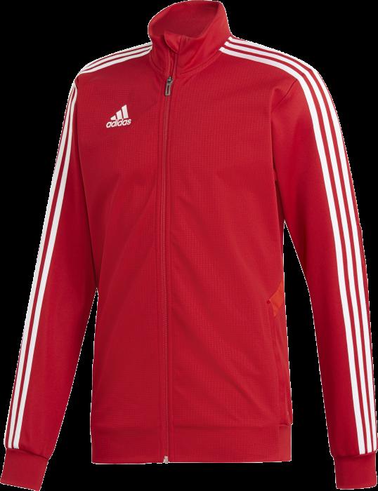 342d73da466 Adidas tiro 19 training jacket › Rood & wit (d95953) › 5 Kleuren ...