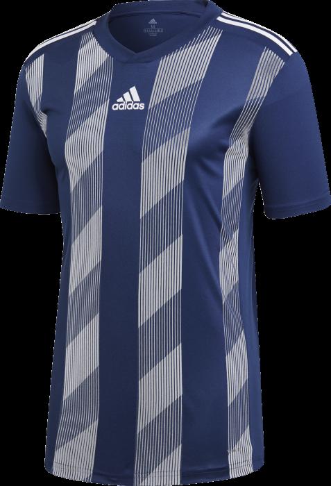 51373e39d20446 Adidas striped 19 jersey SS › Marineblau   weiß (dp3201) › 6 Farben ...