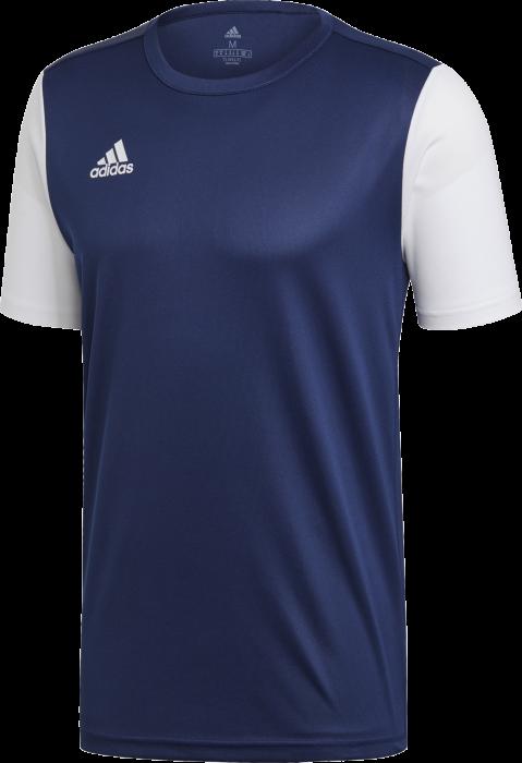 precisamente El extraño fábrica  Adidas estro 19 playing jersey › Navy blue & white (dp3232) › 10 Colors ›  T-shirts & polos by Adidas
