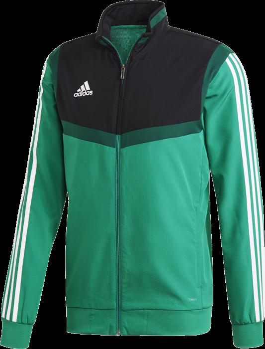 b0a532274c6 Adidas tiro 19 presentation jacket › Groen & zwart (dw4788) › 6 ...