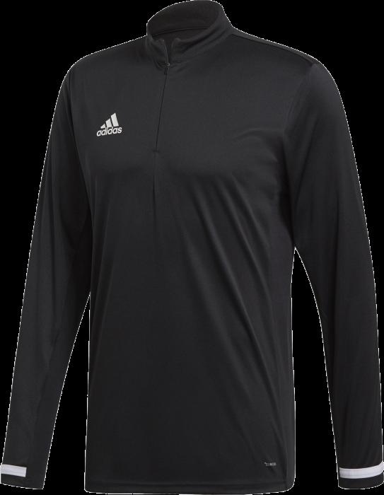 78922b305fd Adidas team 19 1/4 zip shirt › Black & white (dw6852) › T-shirts ...