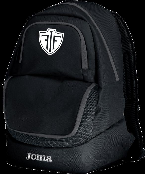 FIF Håndbold tøj og udstyr - Joma Fif Rygsæk Med God Plads › Sort & hvid (400235_100) › Tasker