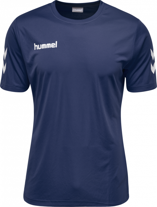 Hummel Core Polyester Tee Kids Marine 103756 6 Colors T Shirts Polos