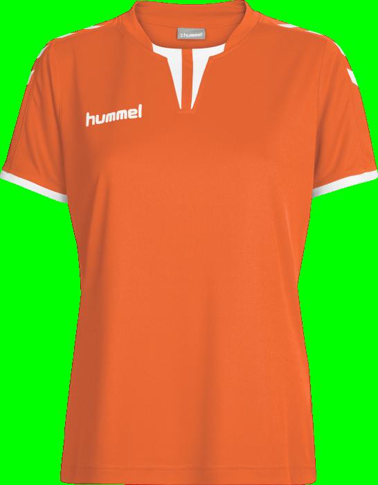 4a4054156de Hummel CORE WOMENS SS JERSEY › Tangerine (03-649-5006) › 11 Colors ...