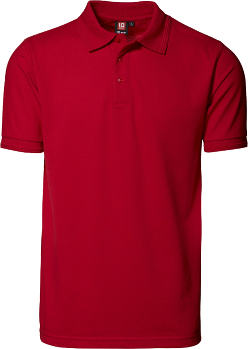 Id Pro Wear Polo Shirt No Pocket Red 0324 7 Colors