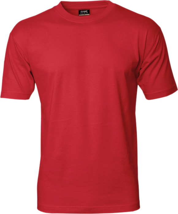 Id Cotton Game T Shirt Rood 0500 13 Kleuren T Shirts En