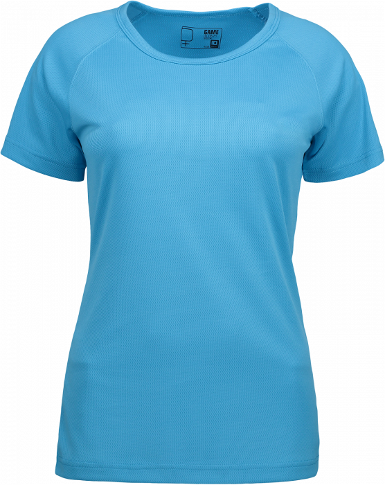 Id Game Active T Shirt Woman Polyester Cyan 0571 7 Colors T Shirts Polos