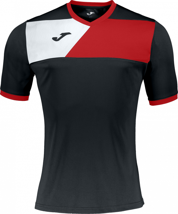 3eba1fe53 Joma CREW II Jersey › Zwart   rood (100611.106) › 11 Kleuren › T ...