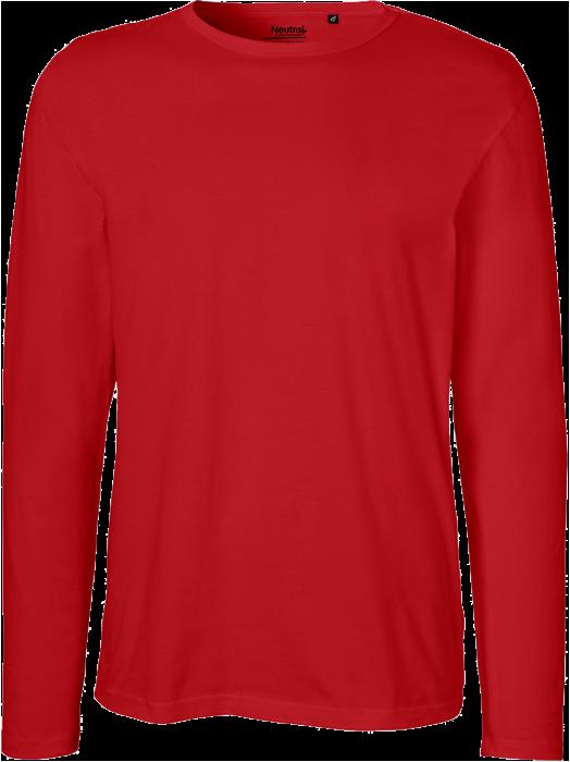 Økologisk Langærmet Bomulds T Shirt
