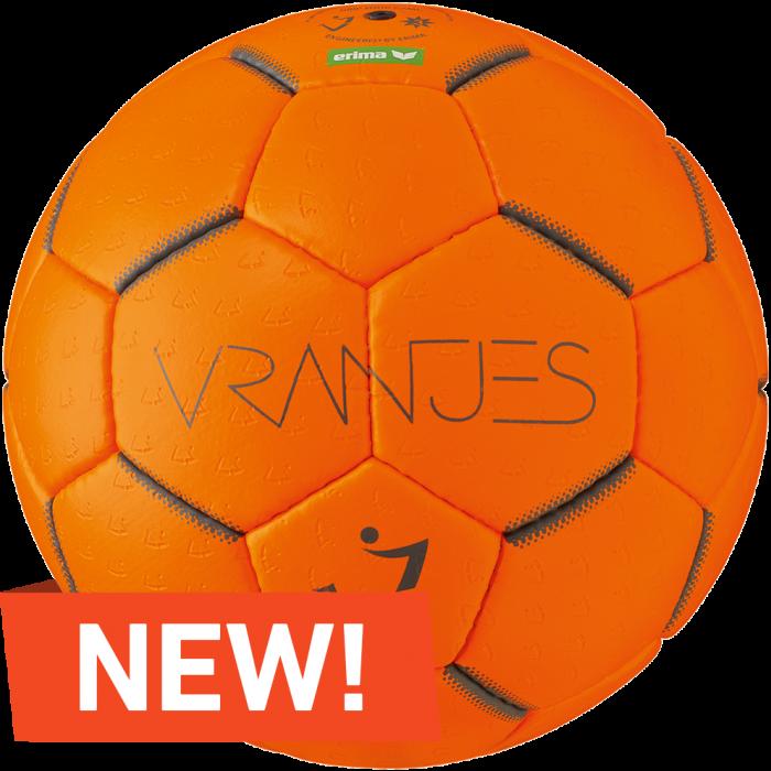 Folkekære Vranjes Håndbold (Str. 2 Og 3) › Orange & grå (Orange) › 6 Farver MB-29